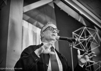 """David Novak performing """"R. Buckminster Fuller: The History (and Mystery) of the Universe"""" by D.W. Jacobs"""