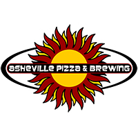 outlined pizza and brew